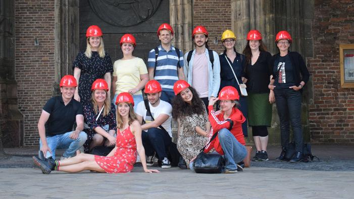 Groepsfoto Instameet Domtoren Utrecht