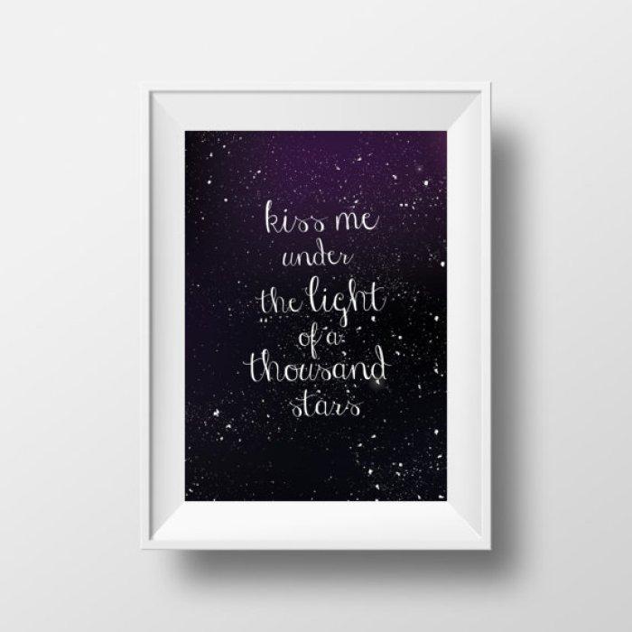 kiss me under the light