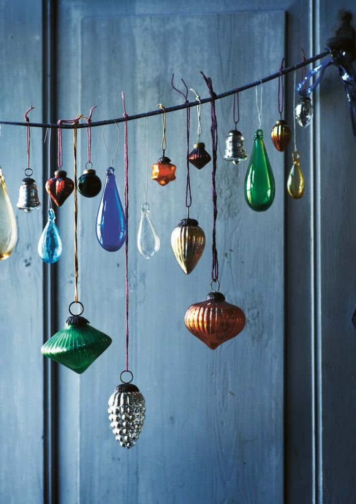baubles hanging