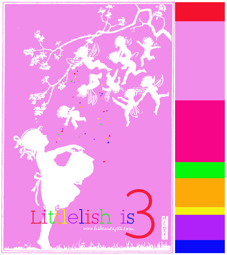 Fairy party invitations - Lish Concepts