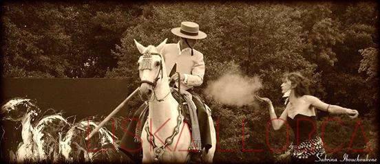 Happening avec Cesar Alvarez et son cheval Jarabe - Haras de la Roche-sur-Yon