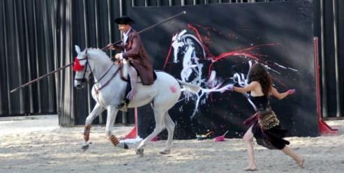 Live painting avec César Alvarez et Jalabe.