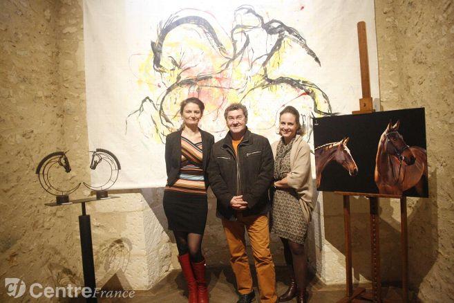 Une photographe, une peintre et un sculpteur livrent leurs regards sur le cheval libre et en mouvement – Nogent-le-Rotrou (28400) – L'Echo Républicain