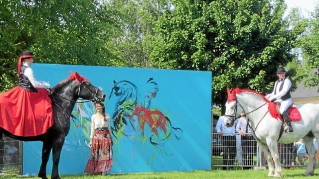 Une très belle édition d'OEuvre de cheval et d'art – 23/05/2017 ouest-france.fr
