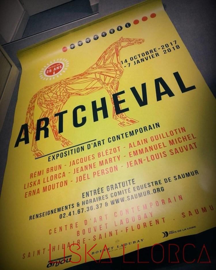 Artcheval - affiche de l'édition 2017