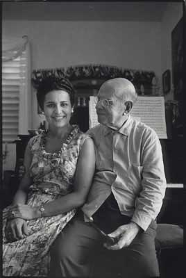 Pablo Casals and his Wife, Martita, 1960 - copyright Lisl Steiner