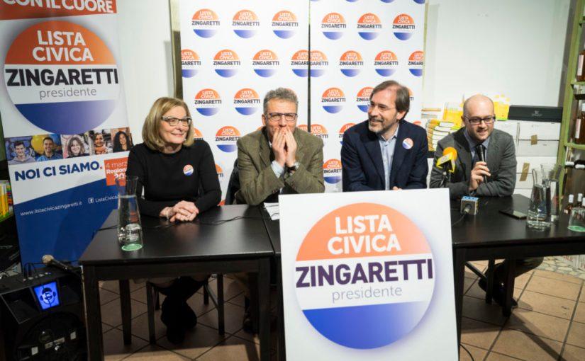 Regionali Marzo 2018 – A Rieti con la testa e con il cuore