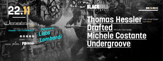 22-11 BLACKWALL Concept Space con Thomas Hessler al Jerbéras Club