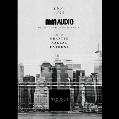"MM AUDIO in store - Release Launch ""Visionary Road"" @ Vicious Store (Locorotondo)"