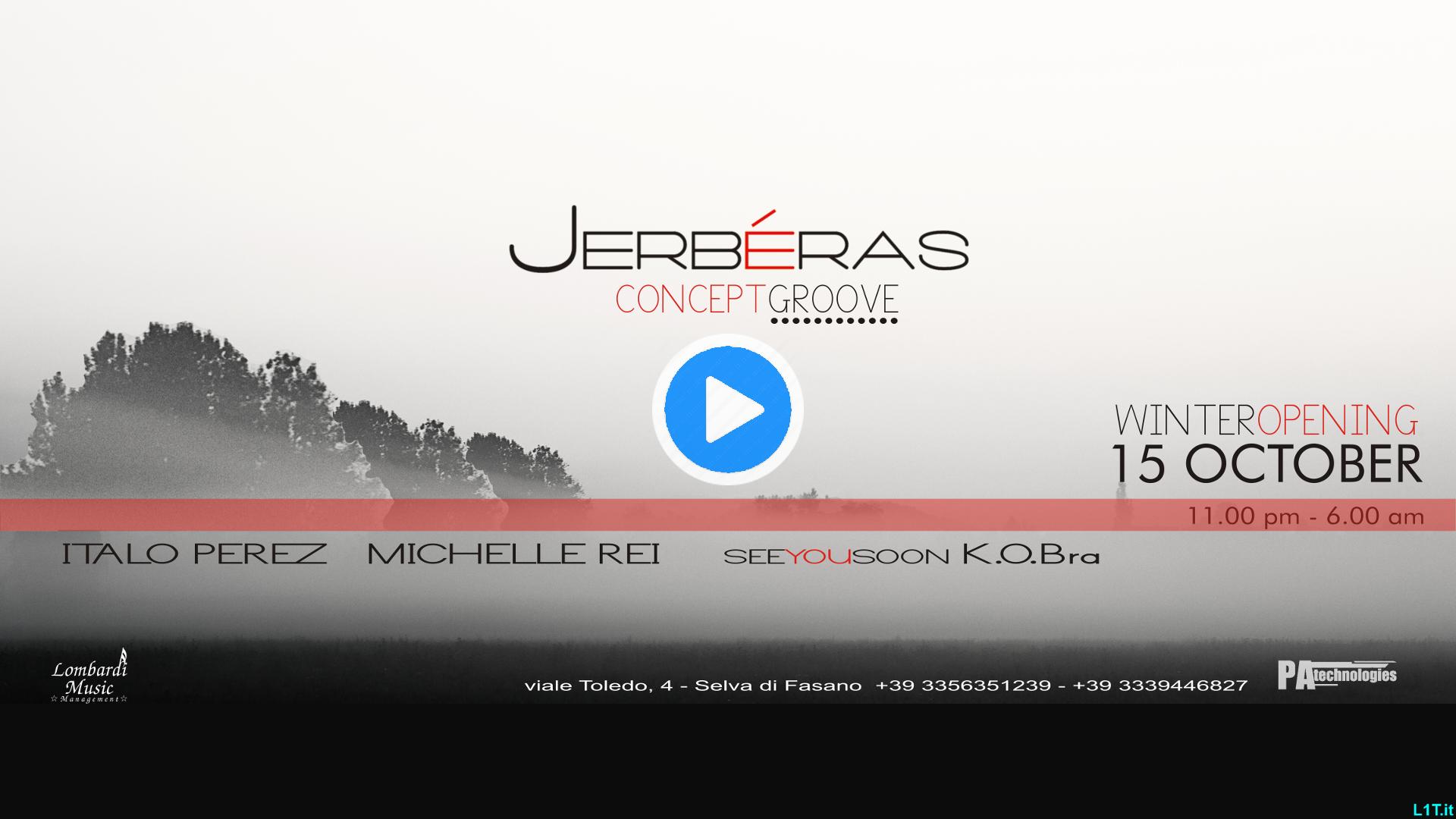 Concept Groove Opening Winter Jerbéras