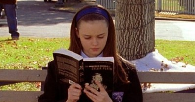 Image result for rory gilmore reading