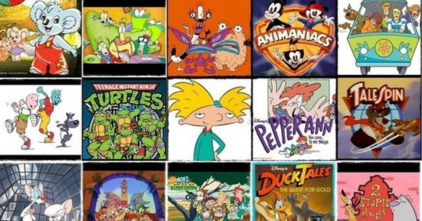 Cartoons From the 80s and 90s   How many did you watch