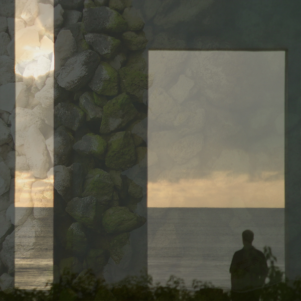 Man looking out to sea. Photos © FreeImages/Frank Zuniga and Zac Ogilvie.