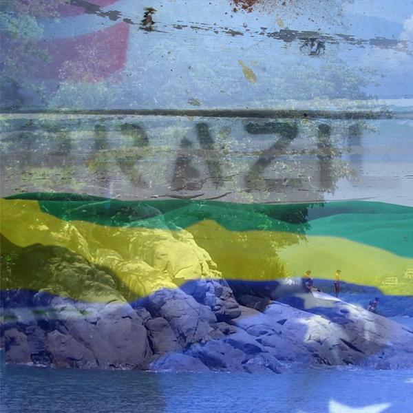 A beach in Brazil is covered with the Brazilian flag. Photos © FreeImages/Jose Boaventura de Freitas, Ivana De Battisti, and aschaeffer