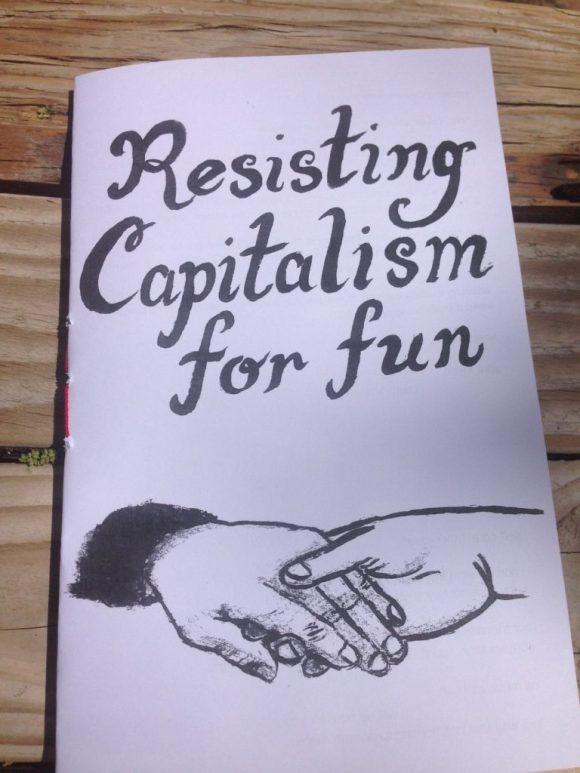 resisting capitalism for fun zine