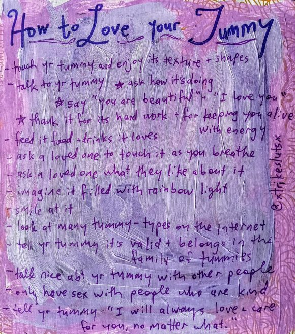 how to love your tummy