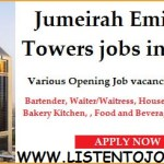 Huge Latest Job Vacancies in Jumeirah Emirates Group 2020| Any Graduate/ Any Degree / Diploma / ITI |Btech | MBA | +2 | Post Graduates  | Dubai-UAE