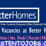 Huge Job Vacancies in Better Homes @UAE,Dubai,Abu Dhabi