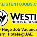 1000+ Huge Job Vacancies in Western International Hotels@UAE
