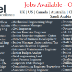 Huge Oil and Gas Job Vacancies in Brunel@UAE-Saudi Arabia-Qatar-Kuwait