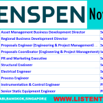 Latest Oil and Gas Job Vacancies in Penspen 2021 | Any Graduate/ Any Degree / Diploma / ITI |Btech | MBA | +2 | Post Graduates | Abu Dhabi,Bangkok,Singapore,UAE,USA,UK