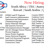 Huge Latest Job Vacancies in Kentz@Saudi Arabia,Qatar,UAE