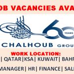 Huge Job Vacancies in Chalhoub Group @Dubai,UAE