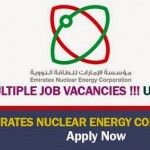 Huge Latest Job Vacancies in Emirates Nuclear Energy Corporation (ENEC)@UAE