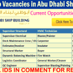 LATEST Job Vacancies in Abu Dhabi Ship Building (ADSB) | Any Graduate/ Any Degree / Diploma / ITI |Btech | MBA | +2 | Post Graduates | Abu Dhabi,UAE