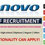 Huge Job Vacancies in Lenovo@Dubai,Saudi Arabia,UAE,Singapore,Malaysia