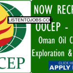 Latest Job Openings in Oman Oil Company Exploration and Production LLC (OOCEP)@Oman,UAE