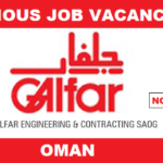 Latest Job Openings in Galfar Engineering & Contracting SAOG (Galfar)@Oman