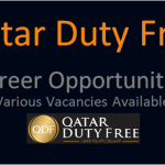Latest Job Vacancies in Qatar Duty Free 2020 | Any Graduate/ Any Degree / Diploma / ITI |Btech | MBA | +2 | Post Graduates  | Qatar,UAE