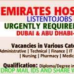Latest Job Vacancies in Emirates Hospital 2017 Dubai | Abu Dhabi | Al Ain|Apply Online |Medical Insurance |Good Salary