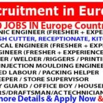 5000+ Multiple Job Recruitment Vacancies in Europe  2018| High Salary | Free Food | Accommodation | Medical