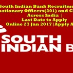 Download Admit Card-South Indian Bank Recruitment For Probationary Officers(201) and Clerks(336)|Across India |Last Date to Apply Online 27 Jan 2017|Apply ASAP