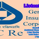 General Insurance Corporation of India Recruitment 2017 | Assistant Manager (Scale I Officers) | Any Graduate | Across India | Last Date 27th March 2017 | Apply Online