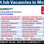 Latest Job Vacancies in McDermott International Inc | Any Graduate/ Any Degree / Diploma / ITI |Btech | MBA | +2 | Post Graduates | UAE,USA ,Mexico,UK,India,Saudi Arabia ,Malaysia,Indonesia,Australia
