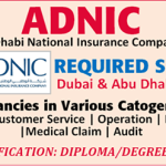 Latest Job Vacancies in Abu dhabi National Insurance Company 2018 | Any Graduate/ Any Degree / Diploma / ITI |Btech | MBA | +2 | Post Graduates | Abu dhabi,UAE