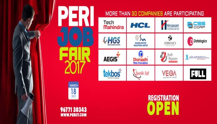 Peri Job Fair 2017 Listentojobs