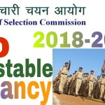 SSC Constable Recruitment 2018 | 10th Pass| 54953 Vacancy | Across India | Apply Now
