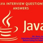 30+ Basic Java Interview Questions You Must Prepare Before Going For Interview In 2020