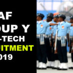 Indian Air Force (IAF) Recruitment 2020 | Indian Air Force Rally For Airmen 2020 | Across India | Rally Date: 4th to 28th February 2020 | www.careerairforce.nic.in