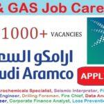 Latest Job Vacancies in Saudi Aramco 2021 | Any Graduate/ Any Degree / Diploma / ITI |Btech | MBA | +2 | Post Graduates | Saudi Arabia
