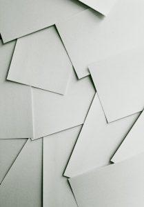 Papiere ohne Ordnung