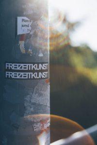 Aufkleber für Outdoor aus Vinyl mit Laminat
