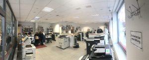 Das Lister Copy Team an der Lister Meile bietet in seinen großzügigen Räumen alles rund um Druck und Papier an.