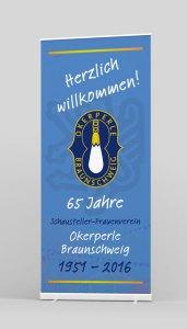 Rollup-2x1 Meter Veranstaltung Braunschweig