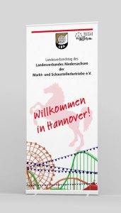 Rollup-2x1 Meter Veranstaltung Hannover Schützenfest