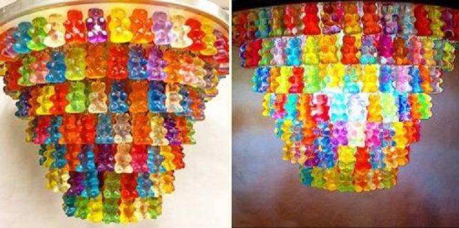 30 Tier Gummy Chandelier